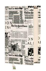 Kitap Kılıfı - Gazete (XS - 29x19,5 cm)