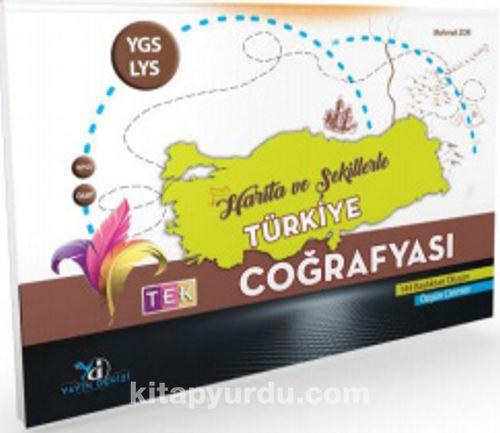 YGS LYS KPSS ÖABT Tek Coğrafya Harita ve Şekillerle Türkiye Pdf 21