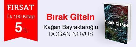 Fırsat ilk 100 kitap 5 TL - Kağan Bayraktaroğlu  - Bırak Gitsin