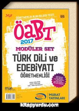 2017 ÖABT Modüler Türk Dili ve Edebiyatı Öğretmenliği (Kod:1213)