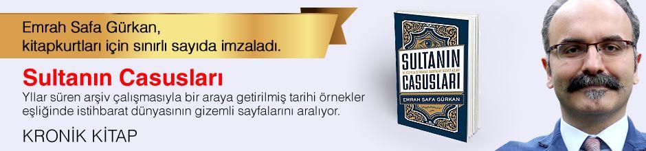 Sultanın Casusları. Emrah Safa Gürkan, Kitapkurtları için Sınırlı Sayıda İmzaladı.