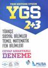 YGS 2+3 Türkçe -Sosyal Bilimler - Temel Matematik - Fen Bilimleri Cevap Anahtarlı Deneme