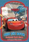Arabalar 3 Oku Çiz Boya Faaliyetli Öykü Kitabı
