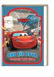 Arabalar 3 Oku Ciz Boya Faaliyetli Oyku Kitabi Kollektif