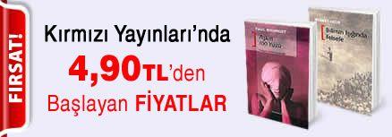 Kırmızı Yayınları'nda 4,90 TL'den Başlayan Fiyatlar Kampanyası