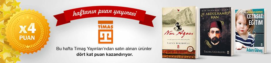 Timaş Yayınları'ndan 4 kat Ekstra Puan Kampanyası