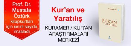 Kur'an ve Yaratılış. Prof. Dr. Mustafa Öztürk, Kitapkurtları için Sınırlı Sayıda İmzaladı.