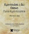 Kanunnamei Ali Osman Fatih Kanunnamesi