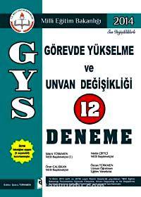 2014 GYS Görevde Yükselme ve Ünvan Değişikliği 12 Deneme - Şükrü Türkmen pdf epub