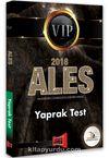 2018 ALES VIP Yaprak Test