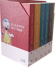 El-Kanun Fi't-Tıbb (6 Kitap Karton Kapak-Kutulu)
