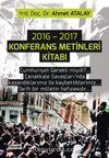 2016-2017 Konferans Metinleri Kitabı