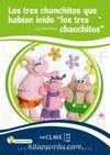 Los tres chanchitos… +Audio descargable (LEEF Nivel-1) 7-10 yaş İspanyolca Okuma Kitabı