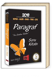 2018 KPSS ALES DGS YGS LYS Paragraf Soru Kitabı