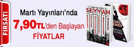 Martı Yayınları'nda 7,90 TL'den Başlayan Fiyatlar Kampanyası