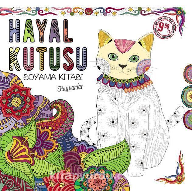 Hayvanlar / Hayal Kutusu Boyama Kitabı -  pdf epub