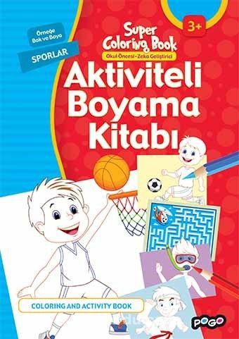 Aktiviteli Boyama Kitabı / Sporlar - Kollektif pdf epub