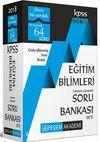2018 KPSS Eğitim Bilimleri Tamamı Çözümlü Modüler Soru Bankası Seti (6 Kitap)