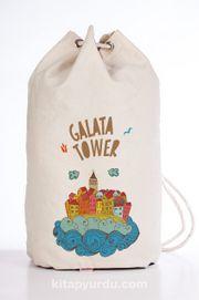 Bookinzi Spor Bez Çanta - Galata Tower