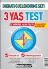 3 Yaş Test Görsel Algı Seti / 3 Yaş Test Kitapçığı
