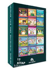 Çocuklar İçin IQ Geliştirici Zeka Oyunları (15 Kitap Set)