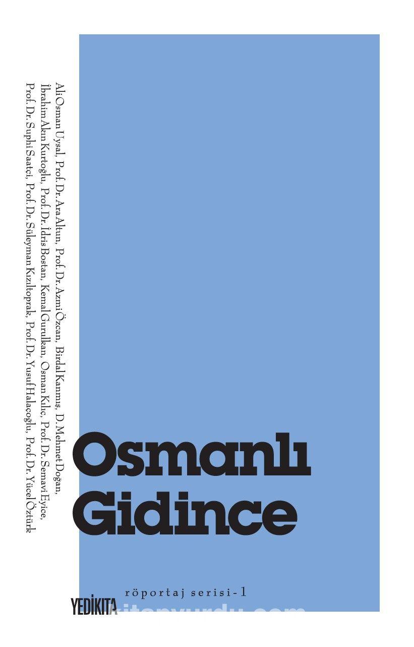 Osmanlı Gidince -  pdf epub