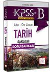2018 KPSS-B Lise Önlisans Tarih Açıklamalı Soru Bankası