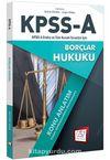 2018 KPSS A Grubu Tüm Kurum Sınavları İçin Borçlar Hukuku Konu Anlatım