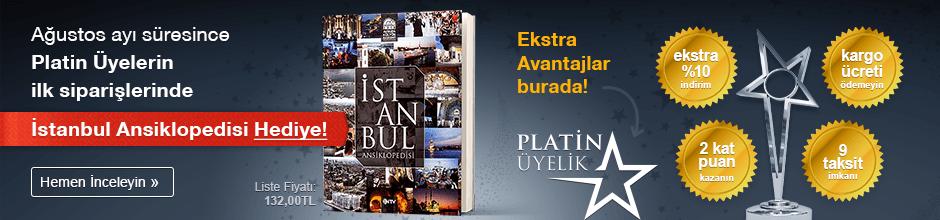 Ağustos Ayında Platin Üyelere İstanbul Ansiklopedisi Hediye!