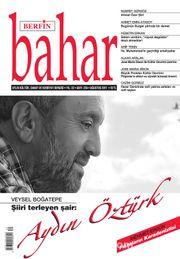 Berfin Bahar Aylık Kültür Sanat ve Edebiyat Dergisi Ağustos 2017 Sayı: 234