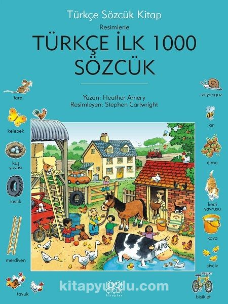 Türkçe İlk Bin Sözcük - Heather Amery pdf epub