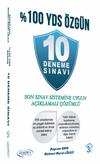 %100 YDS Özgün 10 Deneme Sınavı