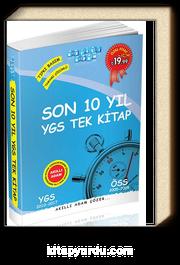 Son 10 Yıl YGS Tek Kitap