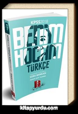2018 KPSS Benim Hocam Türkçe Çözümlü Soru Bankası