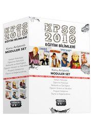2018 KPSS Eğitim Bilimleri Konu Anlatımlı Modüler Set (6 Kitap)