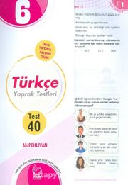 6. Sınıf Türkçe Yaprak Testleri