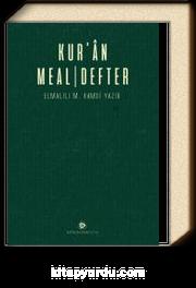 Kur'an Meal Defter