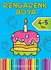 Rengarenk Boya -3 / 4-5 Yaş Mavi Kitap