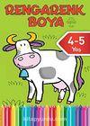 Rengarenk Boya -4 / 4-5 Yaş Yeşil Kitap