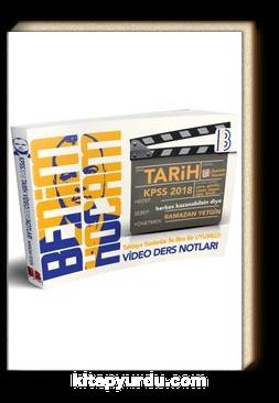 2018 KPSS Tarih Tamamı Çözümlü Video Ders Notları