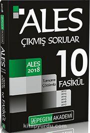 2018 ALES Tamamı Çözümlü 2012-2017 10 Fasikül Çıkmış Sorular