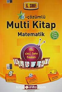 6. Sınıf e-Çözümlü Multi Kitap Matematik - Komisyon pdf epub