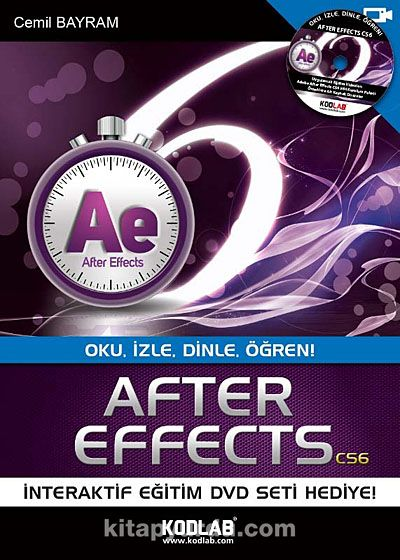 After Effects CS6Oku, İzle, Dinle, Öğren - Cemil Bayram pdf epub