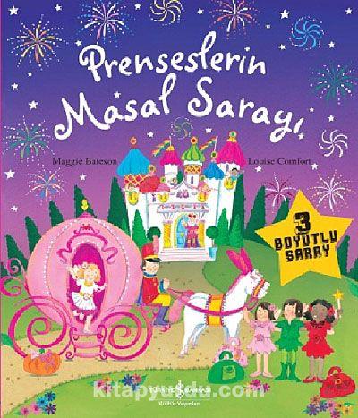 Prenseslerin Masal Sarayı - 3 Boyutlu Kitap - Louise Comfort pdf epub