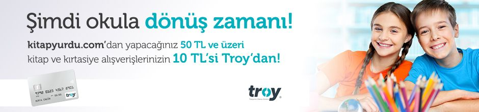 Troy Kartlara 50 TL ve Üzeri Alışverişte 10 TL İndirim!