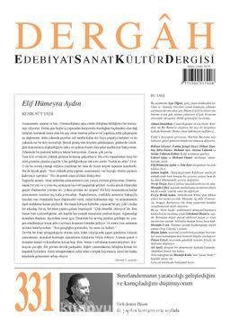 Dergah Edebiyat Sanat Kültür Dergisi Sayı 331 Eylül 2017