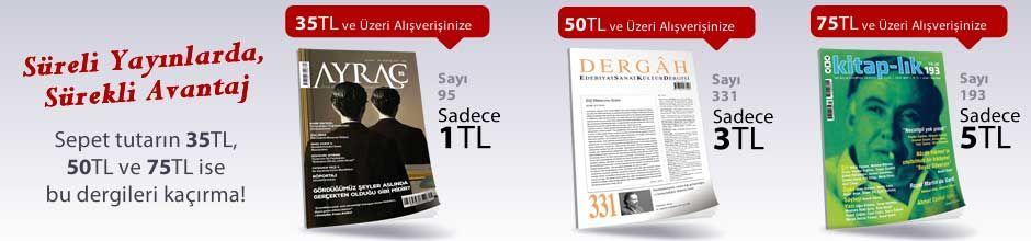 """35TL ve Üzeri Alışverişinize """" Ayraç Dergisi Sayı:95 Eylül 2017 """" Sadece 1 TL"""