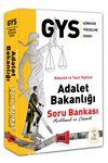 GYS Adalet Bakanlığı Açıklamalı ve Çözümlü Soru Bankası