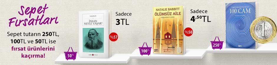 """50TL ve Üzeri Alışverişinize """"İnsan Neyle Yaşar?"""" Sadece 3 TL"""