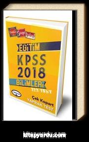 2018 KPSS Eğitim Bilimleri Çek Kopart Yaprak Test